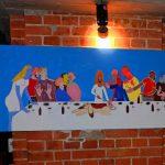 Pintura al óleo Karlo Grados Stuttgart Alemania oil paiinting